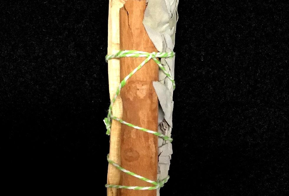 Cinnamon, Sage, Pali Santo