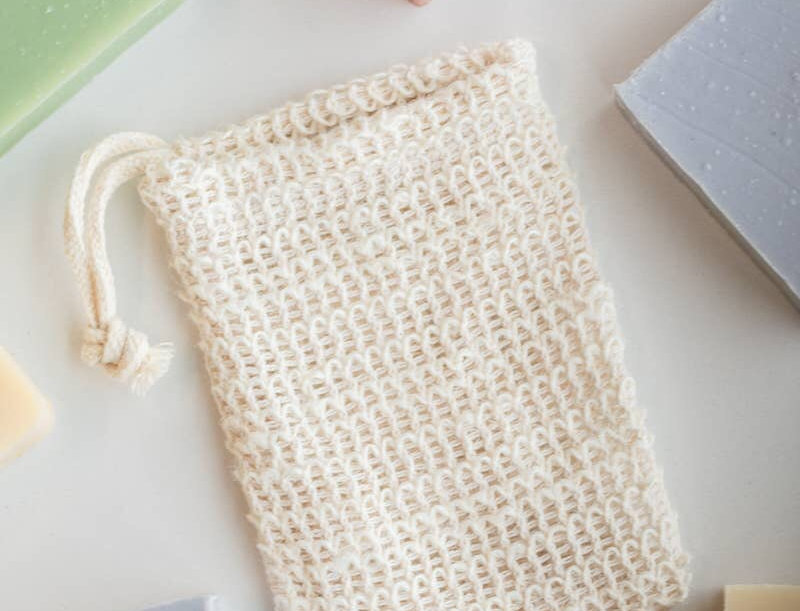 Woven Soap Bag - Exfoliating Scrubber