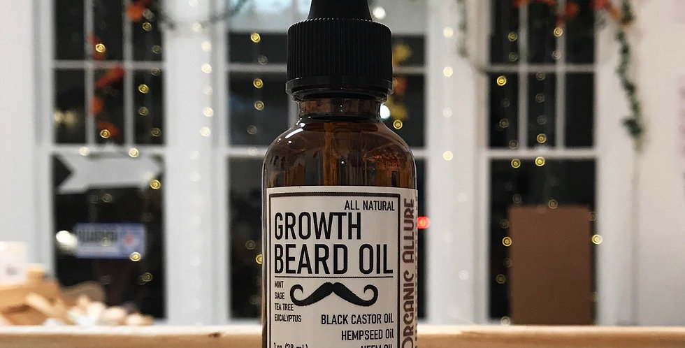 GROWTH BEARD OIL - MEN