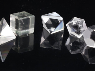 Sacred Platonic Solids Crystals