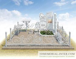 3d эскиз памятника