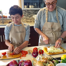 Cooking with kids, Nirmalas Farmstead Hudson Valley, NY