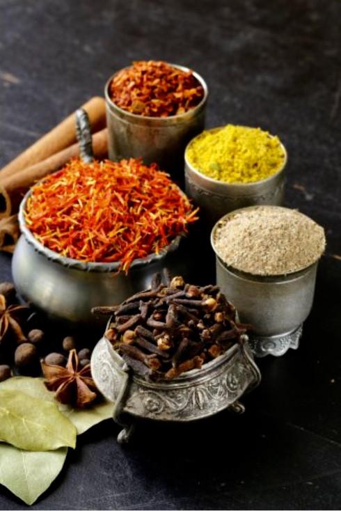 Nirmala's Rare Exotic Spices at the Farm