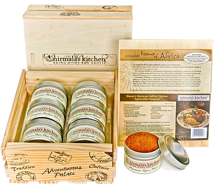 Essence of Africa Spice Gift Set Nirmalas Kitchen