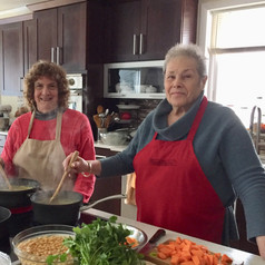 Sister Love, Indian Cooking Class, Nirmalas Farmstead Hudson Valley, NY
