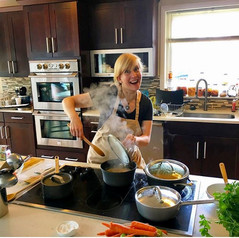 College Cooking for 1, Vegan Cooking Class, Nirmalas Farmstead Hudson Valley, NY