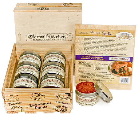 Mystical India Spice Gift Set Nirmalas Kitchen