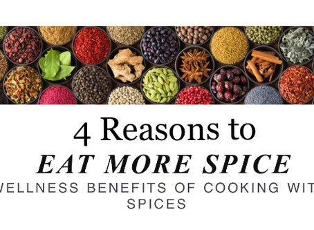 4 Reasons to Eat more of these Spices-Nirmala Narine