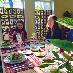 One Spice Table Barn Dinners, Mindful Eating Habits at Nirmalas Farmstead Hudson Valley, NY