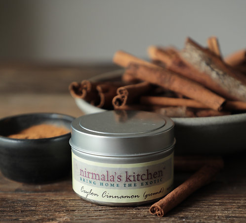 Nirmalas Kitchen Cinnamon with antibacterial, antioxidant properties it's shown to help with insulin sensitivity and glucose