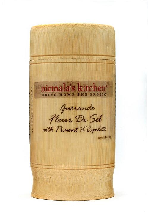 Guerande Fleur De Sel with Piment D'Espelette Nirmalas Kitchen