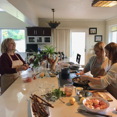 A Fabulous Mother Daughter Team, Cooking Class, Nirmalas Farmstead Hudson Valley, NY, Birthday Fun