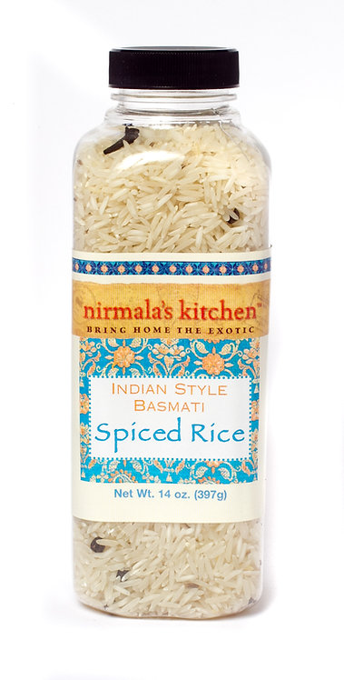 Spiced Basmati Rice Nirmala's Kitchen Global Cuisine Indian