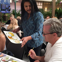 Walt Disney- Ellishiva Cinnamon Painting and Cooking with Spices Nirmala Narine  Environmental Stewardship