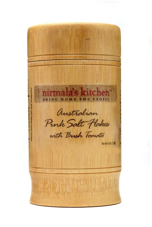 Australian Pink Salt Flakes with Bush Tomatoes Nirmalas Kitchen
