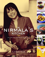 "The Indiana Jones of Spices, taste culture from far flung destination and unknown parts around the world. In Nirmala's Kitchen Everyday World Cuisine a travel Memoir Cookbook with recipes from 45 Countries with Foreword written Eric Ripert of Le Bernardin, Executive Chef, host Avec Eric on PBS Michelin 3 star restaurant . ""The Indiana Jones of Spices"""