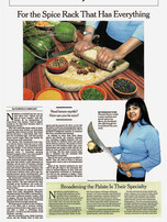 The Spice Rack that has Everything, featured in the NY TIMES Nirmala Narine