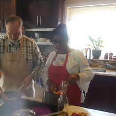 Escape the office with a North African cooking class, team building at Nirmalas Farmstead, NY Hudson Valley