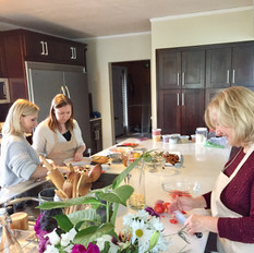 A Fabulous Mother Daughter Team, Cooking Class, Nirmalas Farmstead Hudson Valley, NY
