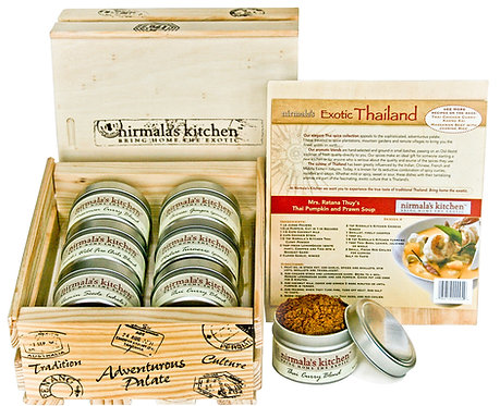 Exotic Thailand Spice Gift Set Nirmalas Kitchen