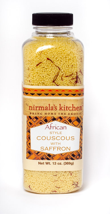 African Style Couscous with Saffron Nirmalas Kitchen