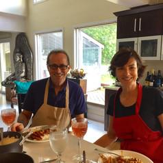 Couples Goal Vegan Cooking Class, Nirmalas Farmstead Hudson Valley, NY