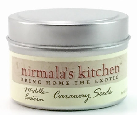 Nirmalas Kitchen Caraway Seeds- In Ayurvedic Medicine these seeds aid in digestive problems including heartburn.