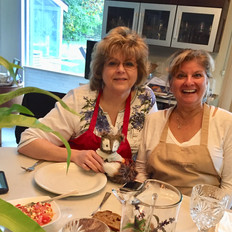 Traveling Girlfriends, Cooking Adventures, Nirmalas Farmstead Hudson Valley, NY, Birthday Fun