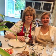 Traveling Girlfriends, Cooking Adventures, Nirmalas Farmstead Hudson Valley, NY, Birthday Fun