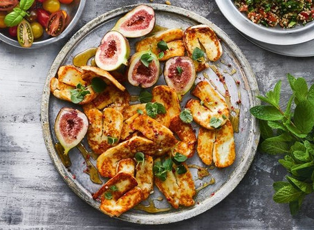 Meet our Brazilian Pink Pepper Farmers - Make this Sweet and Sticky Grilled Paneer with fresh figs,