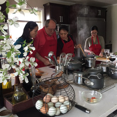 Mindful Healthy Eating Habits at our Cooking Class Nirmala Farmstead Hudson Valley, NY