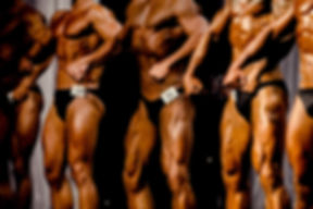 group athletes bodybuilders posing most