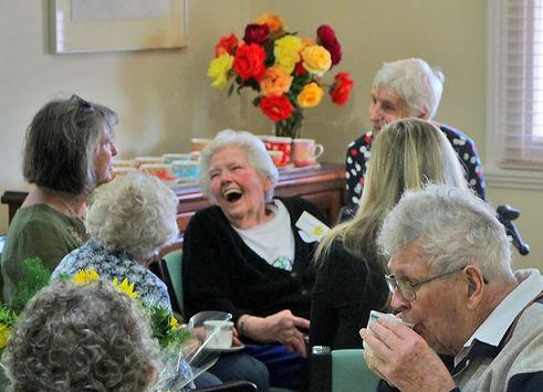 Elderly Socialising