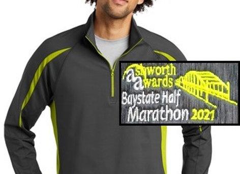 Men's Baystate HALF Marathon 1/2 Zip
