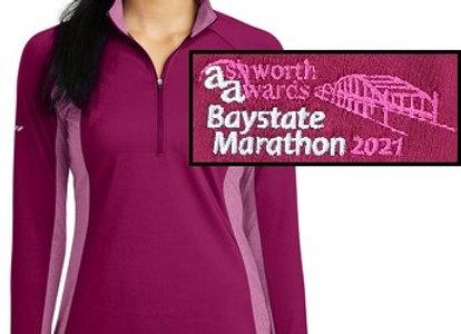 Women's Baystate Marathon 1/2 Zip