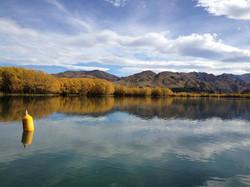 Lake Aviemore in Autumn