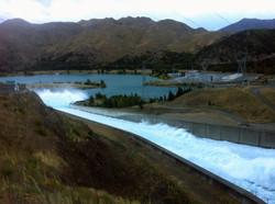 The Benmore Dam Spill Way