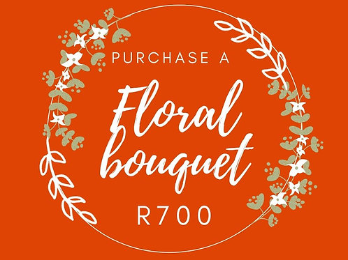 Floral hand-tied bouquet R700