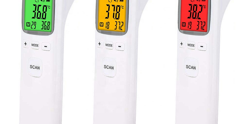 Individual infrared non-touch thermometer