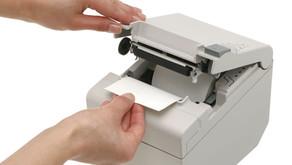 שחרור נייר שנתקע (EPSON TM-T88)