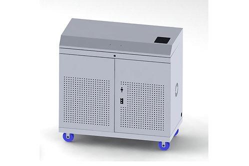 עגלת טעינה ל 24 מחשבים ניידים