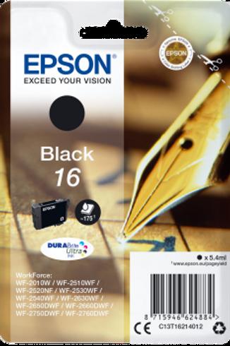 דיו שחור למדפסת אפסון T1621 EPSON