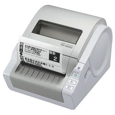 מדפסת מדבקות TD-4000 Brother