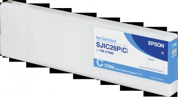 SJIC26P(C): INK CARTRIDGE (CYAN)