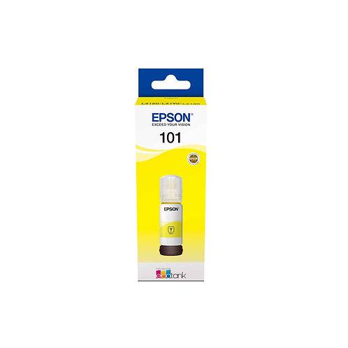 דיו צהוב מקורי 101 EcoTank Yellow ink