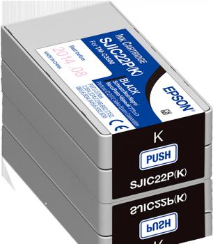 SJIC22P(K): INK CARTRIDGE (BLACK)