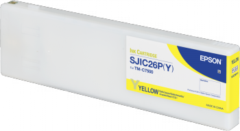 SJIC26P(Y): INK CARTRIDGE (YELLOW)
