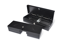 A selection of professional and Heavy duty Slide Cash Drawers Filp-Top and Classic.