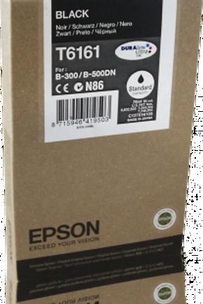 דיו שחור למדפסת אפסון T6161 EPSON