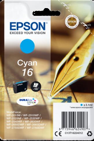 דיו כחול למדפסת אפסון T1622 EPSON